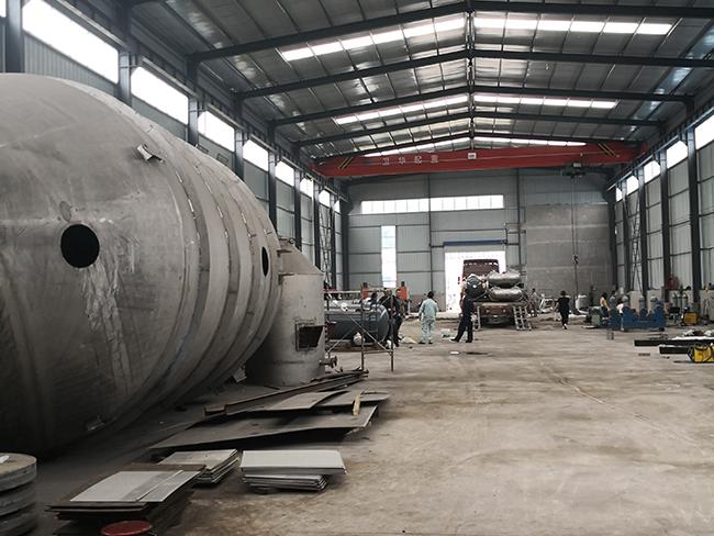 TA2 storage tank