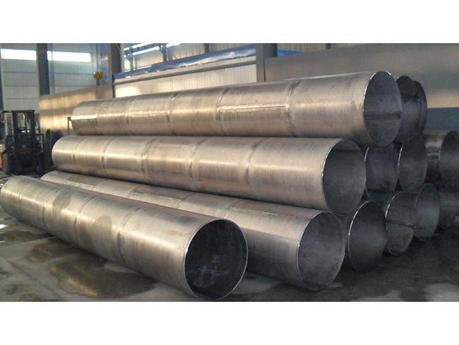 Large diameter welded pipe