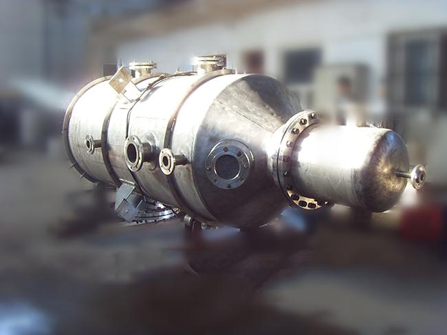 Pure titanium evaporator